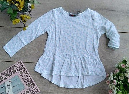 CHAMEELO GIRL TOP MOTIF WHITE CCFC