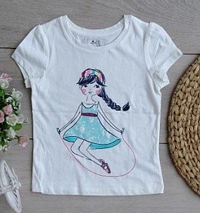BABY GAP GIRL TOP WHITE CCX